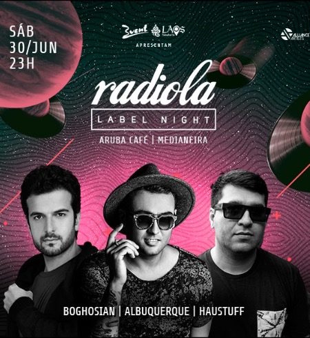 Radiola Label Night @ Aruba Café