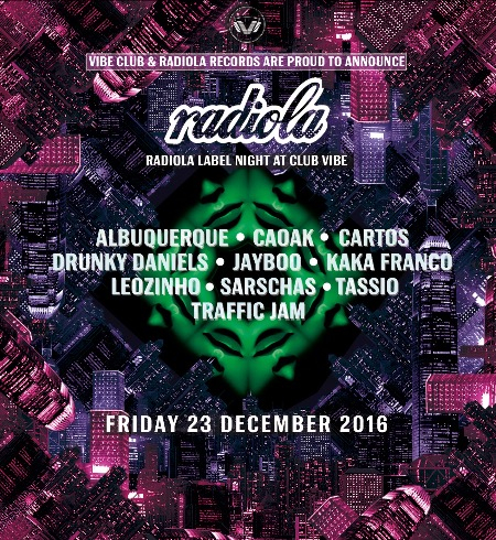 Radiola Label Night @ Club Vibe